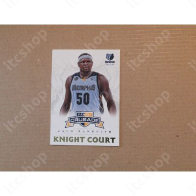 2012-13 Panini Crusade Knight Court #23 Zach Randolph