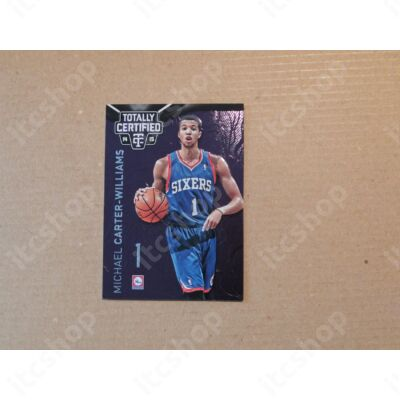 2014-15 Totally Certified Platinum Purple #54 Michael Carter-Williams