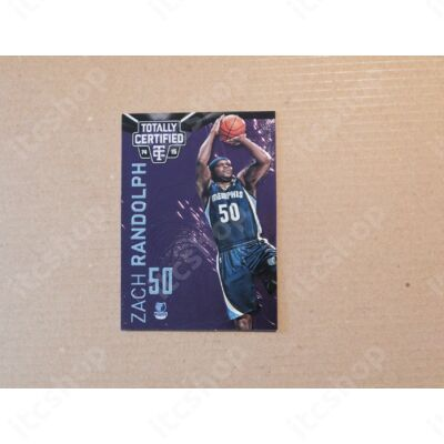 2014-15 Totally Certified Platinum Purple #5 Zach Randolph