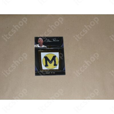 2011-12 Exquisite Collection UD Black College Vault Autographs #VGR Glen Rice