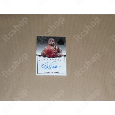 2014-15 Paramount Penmanship Autographs #47 Kevin Willis/99