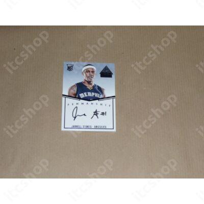 2014-15 Paramount Penmanship Rookie Autographs Blue #29 Jarnell Stokes
