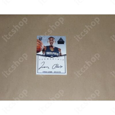 2014-15 Paramount Penmanship Rookie Autographs Blue #20 Jordan Adams