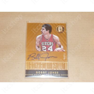2014-15 Panini Gold Standard Etched in Gold Autographs #9 Bobby Jones/99