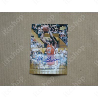 2014-15 Upper Deck March Madness Collection Gold Foil Autographs #AC1 A.C. Green E