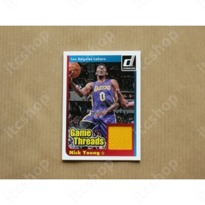 2014-15 Donruss Game Threads #36 Nick Young