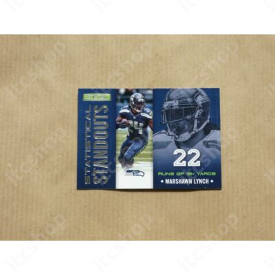 2013 Rookies and Stars Statistical Standouts #6 Marshawn Lynch