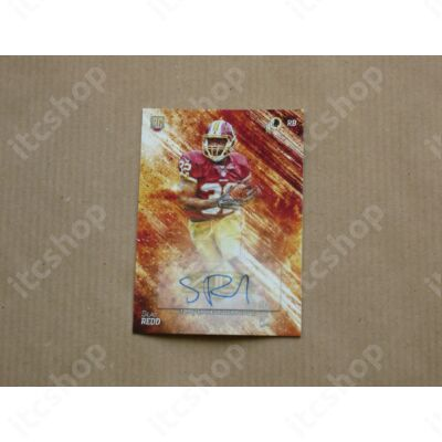 2014 Topps Fire Rookie Autographs #158 Silas Redd
