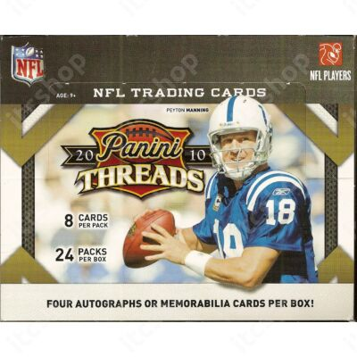 2010 Panini Threads Football Hobby Doboz NFL
