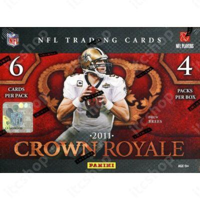 2010 Panini Crown Royale Football Hobby Doboz NFL