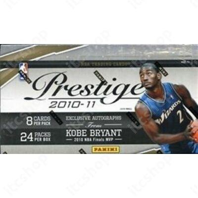 2010-11 Panini Prestige Basketball Hobby Doboz NBA
