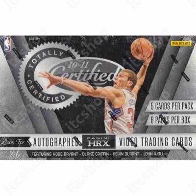 2010-11 Panini Totally Certified Basketball Hobby Doboz NBA