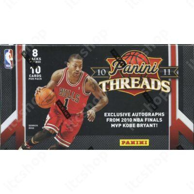 2010-11 Panini Threads Basketball Hobby Doboz NBA