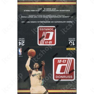 2010-11 Donruss Basketball Hobby Doboz NBA