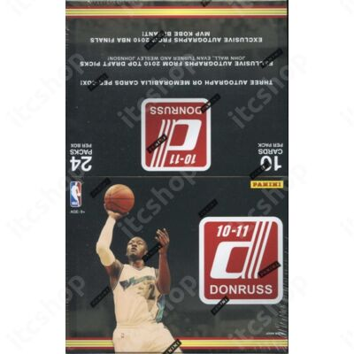 2010-11 Donruss Basketball Hobby Doboz NBA