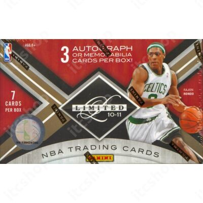 2010-11 Panini Limited Basketball Hobby Doboz NBA