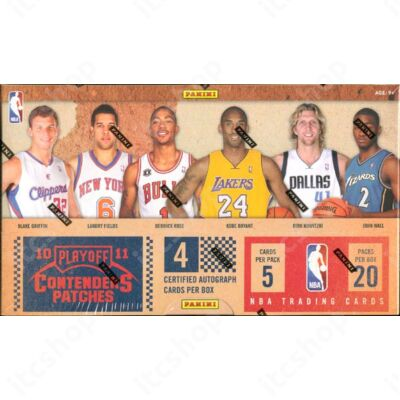 2010-11 Playoff Contenders Patches Basketball Doboz