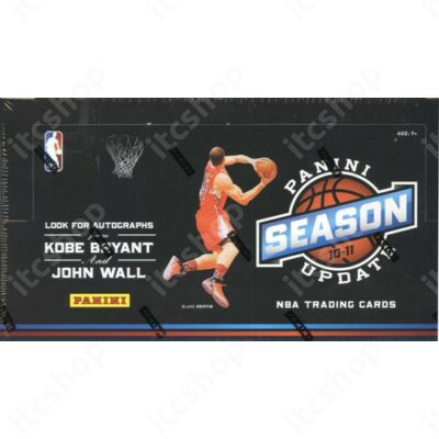 2010-11 Panini Season Update Basketball Hobby Doboz NBA