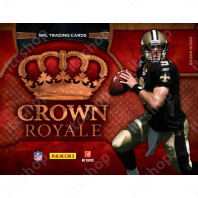 2011 Panini Crown Royale Football Hobby Doboz NFL