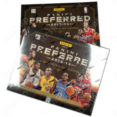 2012-13 Panini Preferred Basketball Hobby Doboz