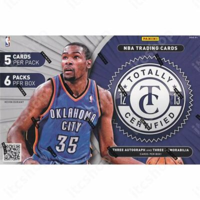 2012-13 Panini Totally Certified Basketball Hobby Doboz