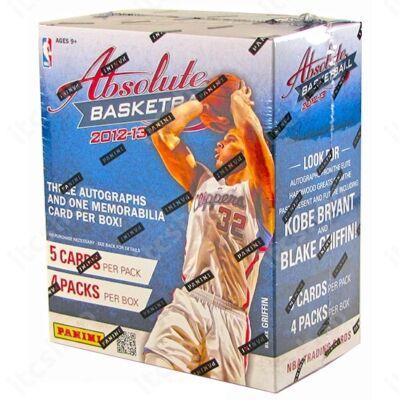 2012-13 Panini Absolute Memorabilia Basketball Hobby Doboz NBA