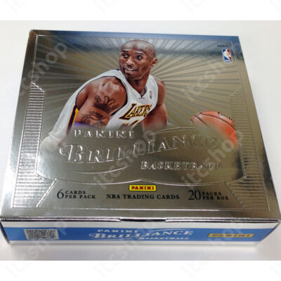 2012-13 Panini Brilliance Basketball Hobby Doboz NBA