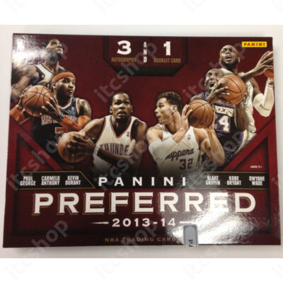2013-14 Panini Preferred Basketball Hobby Doboz NBA