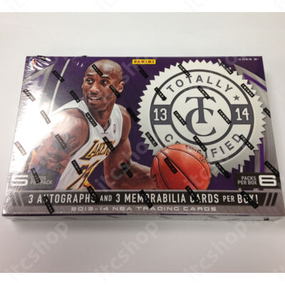 2013-14 Panini Totally Certified Basketball Hobby Doboz NBA