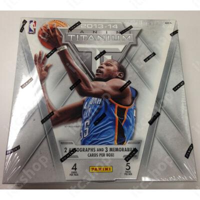 2013-14 Panini Titanium Basketball Hobby Doboz NBA