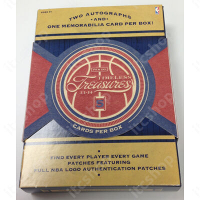 2013-14 Panini Timeless Treasures Basketball Hobby Doboz NBA