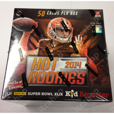 2014 Panini Hot Rookies Football Hobby Doboz NFL