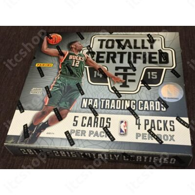 2014-15 Panini Totally Certified Basketball Hobby Doboz NBA