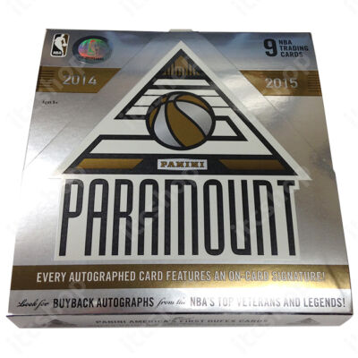 2014-15 Panini Paramount Basketball Hobby doboz NBA