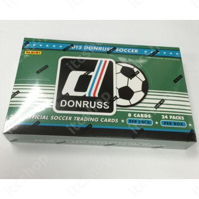 2015 Donruss Soccer Hobby doboz (24 csomag/doboz)