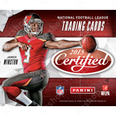 2015 Panini Certified Football Hobby doboz