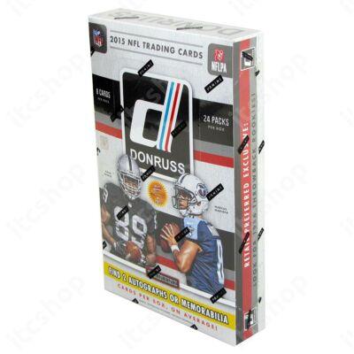2015 Panini Donruss Football Retail Preferred doboz