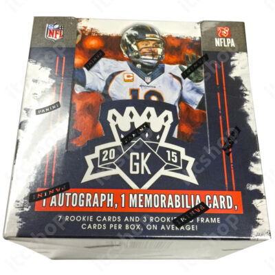2015 Gridiron Kings Football Hobby doboz