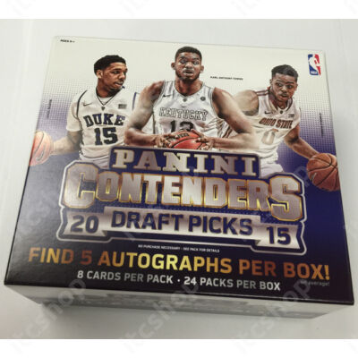 2015-16 Contenders Draft Picks Hobby doboz