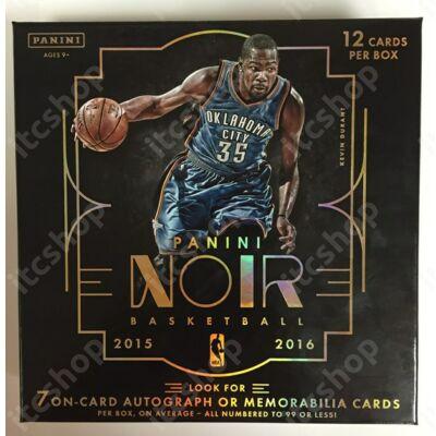 2015-16 Noir Basketball Hobby Doboz