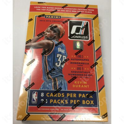 2015-16 Donruss Basketball Hobby doboz