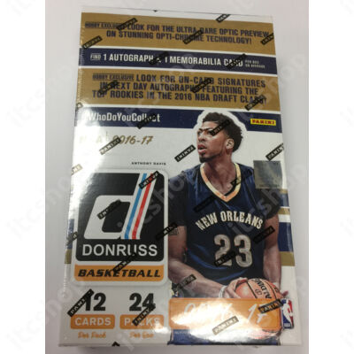 2016-17 Donruss Basketball Hobby doboz