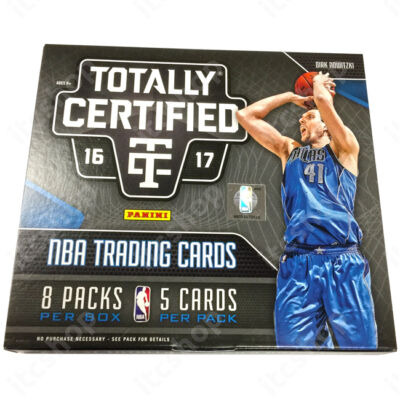 2016-17 Totally Certified Basketball Hobby doboz