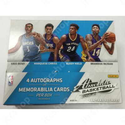 2016-17 Absolute Basketball Hobby doboz