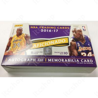 2016-17 Aficionado Basketball Hobby doboz