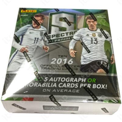 2016 Spectra Soccer Hobby doboz