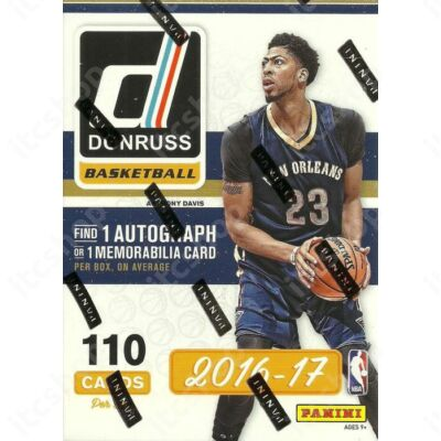 2016-17 Donruss Basketball Blaster doboz
