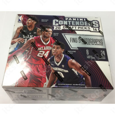 2016 Contenders Draft Picks Basketball Hobby doboz