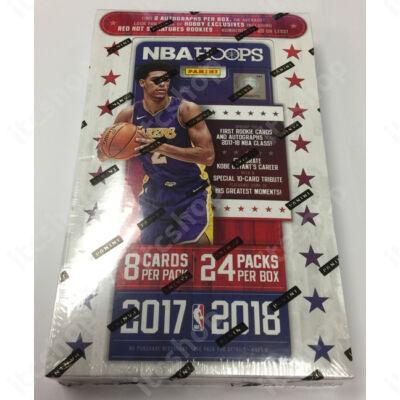 2017-18 NBA Hoops Hobby doboz