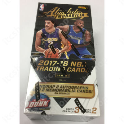 2017-18 Absolute Memorabilia Basketball Hobby doboz